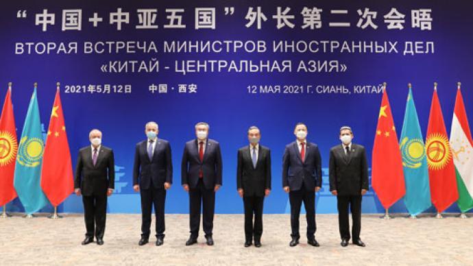 """从""""中国+中亚五国""""外长会晤看中国外交三个关键词"""