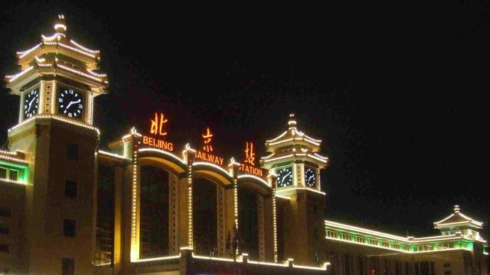 受京哈线设备故障影响,北京站始发的五次列车晚点