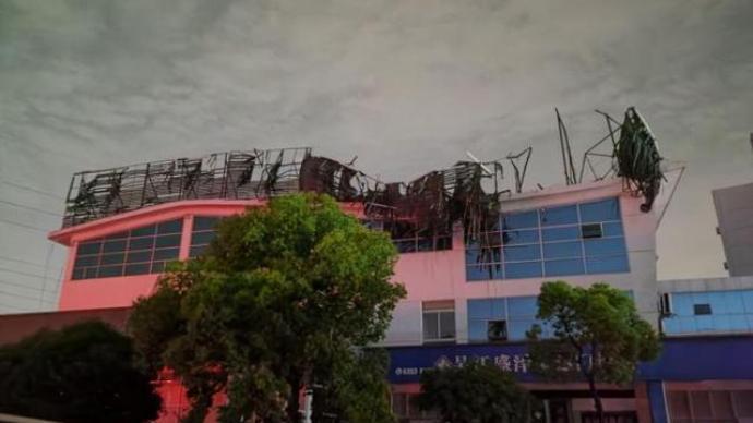 苏州盛泽龙卷风致4死149伤,中心最大风力17级