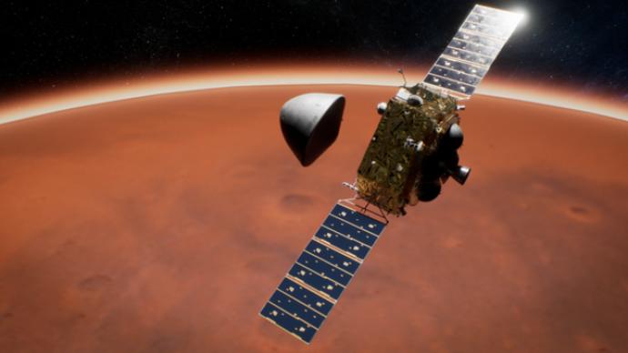 是星际专车也是通信中继站,专家披露环绕器如何助力着陆火星
