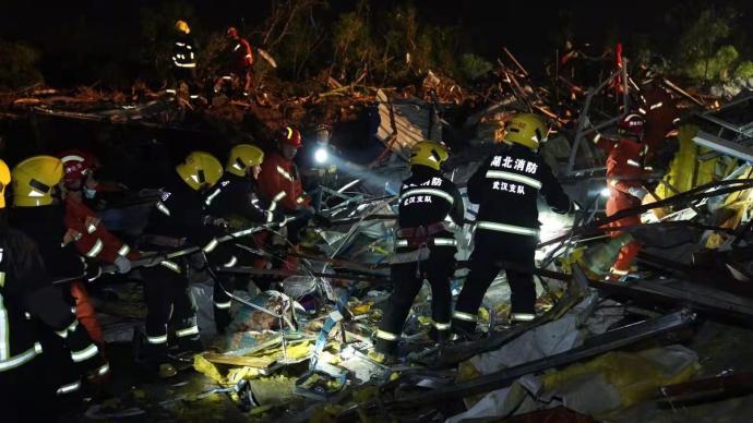 武汉官方发布会:武汉龙卷风已致8人遇难230人受伤
