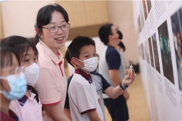 参观上海文旅图片展