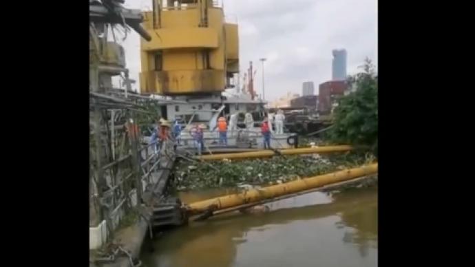 广东珠江黄埔段捞出1.6吨来源不明腐肉,公安部门介入调查
