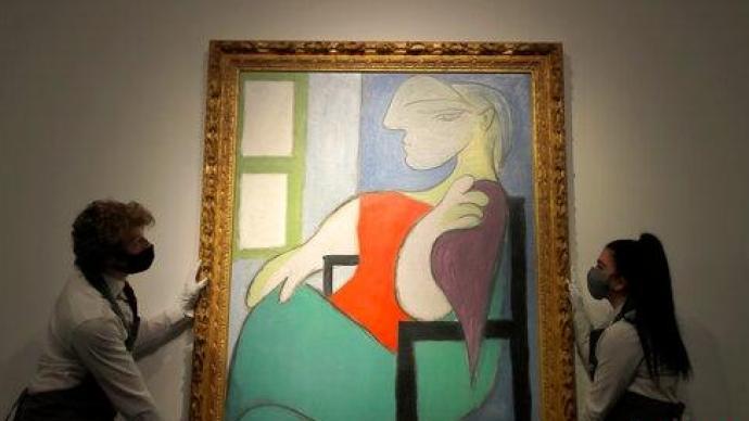 毕加索画作《坐在窗边的女人》拍出6.6亿元,仅用19分钟