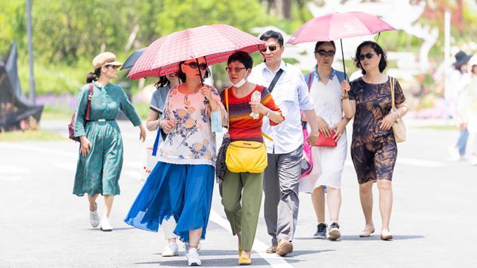 花博倒计时一周:园区全负荷压力测试,超4.6万游客入园