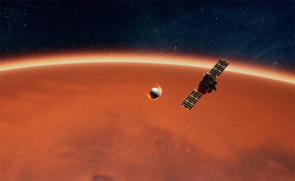 """两器分离的过程可谓""""步步惊心"""" 本文图片均由 中国航天科技集团 供图"""