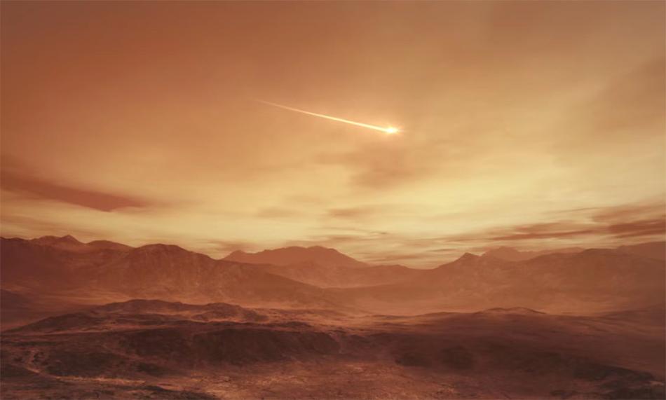 进入火星大气时,着陆巡视器的速度可达每秒4.8千米,相当于子弹出膛速度的6倍