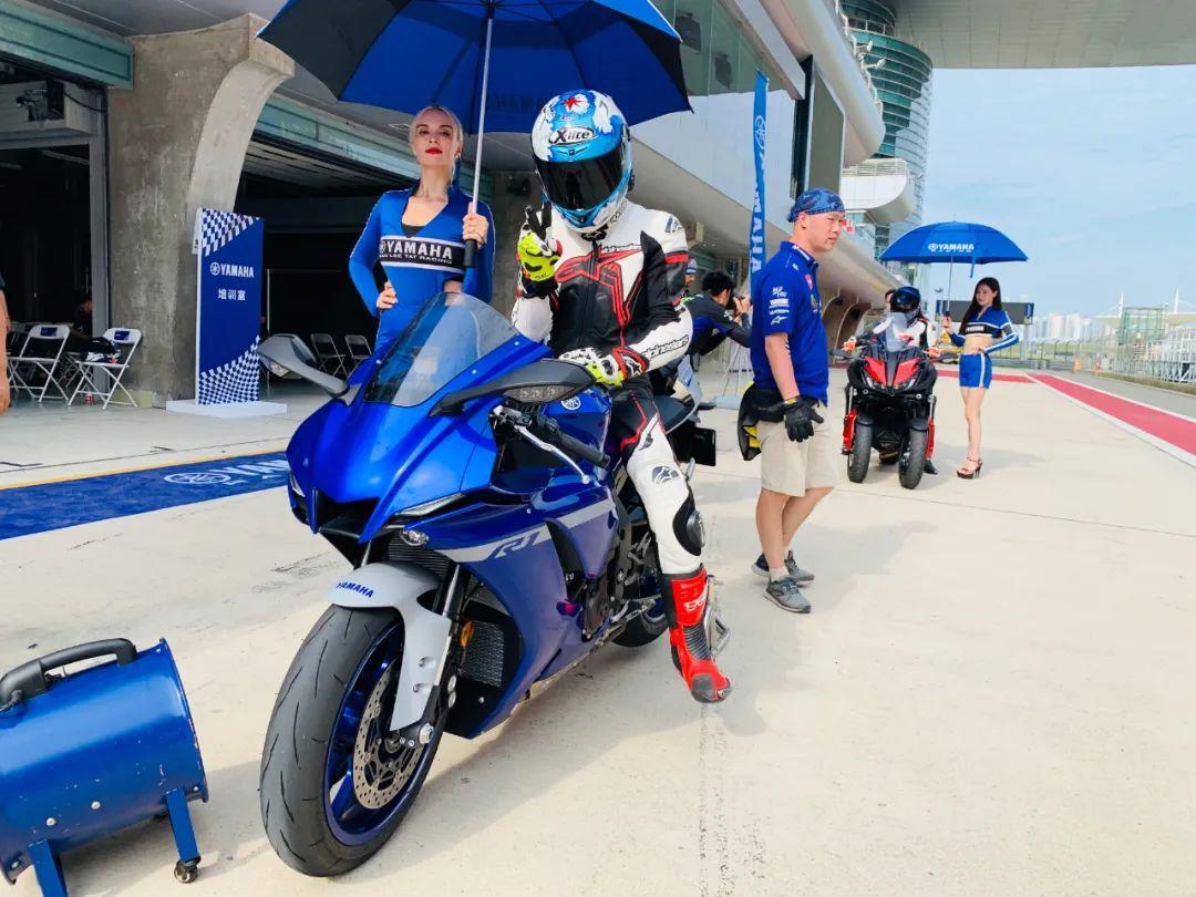 骑手参加雅马哈骑行活动。受访者供图