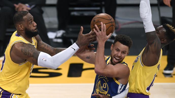 NBA季后赛对阵揭晓:湖人勇士附加赛大战,快船再打独行侠