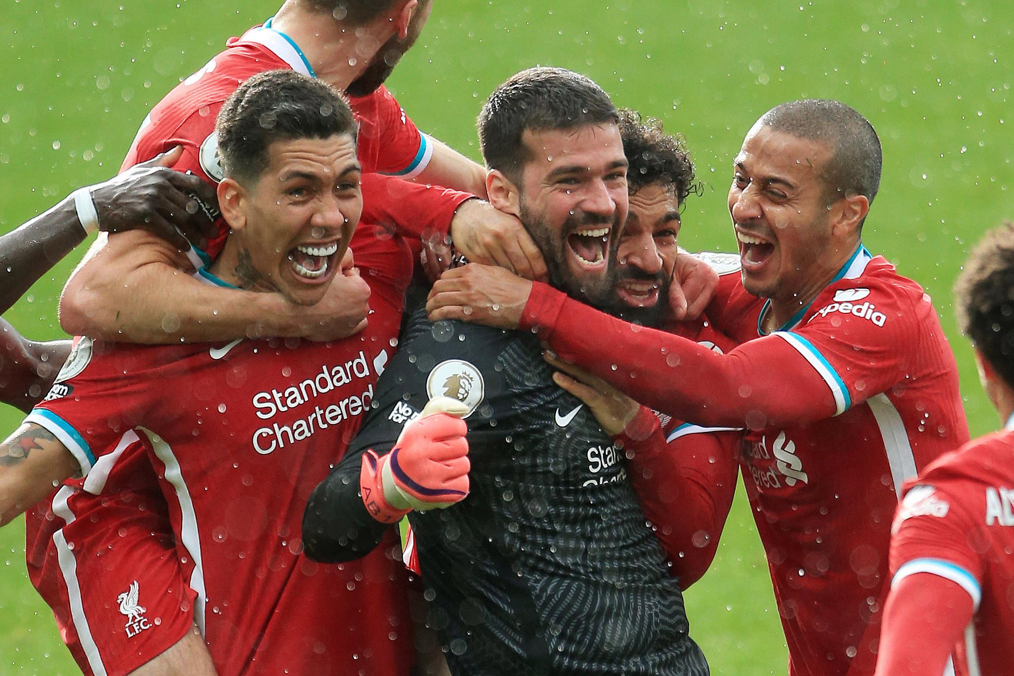阿利松帮助利物浦拿下关键胜利。