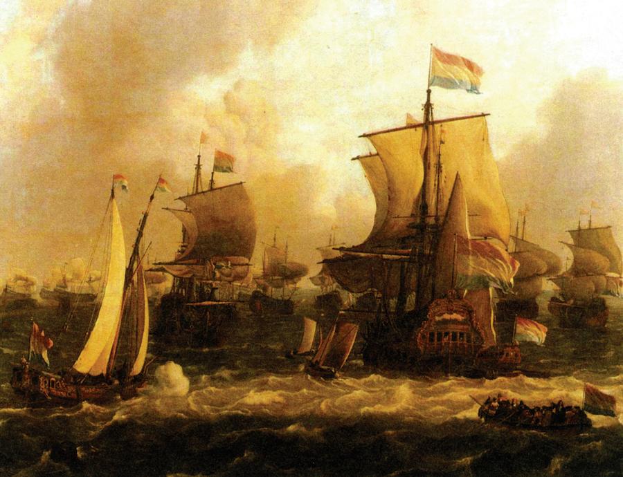 荷兰东印度公司的商船