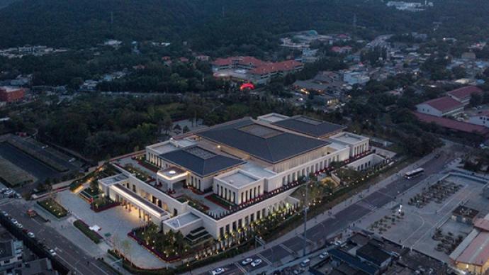 现场|香山革命纪念馆:依山就势,用建筑讲述历史故事