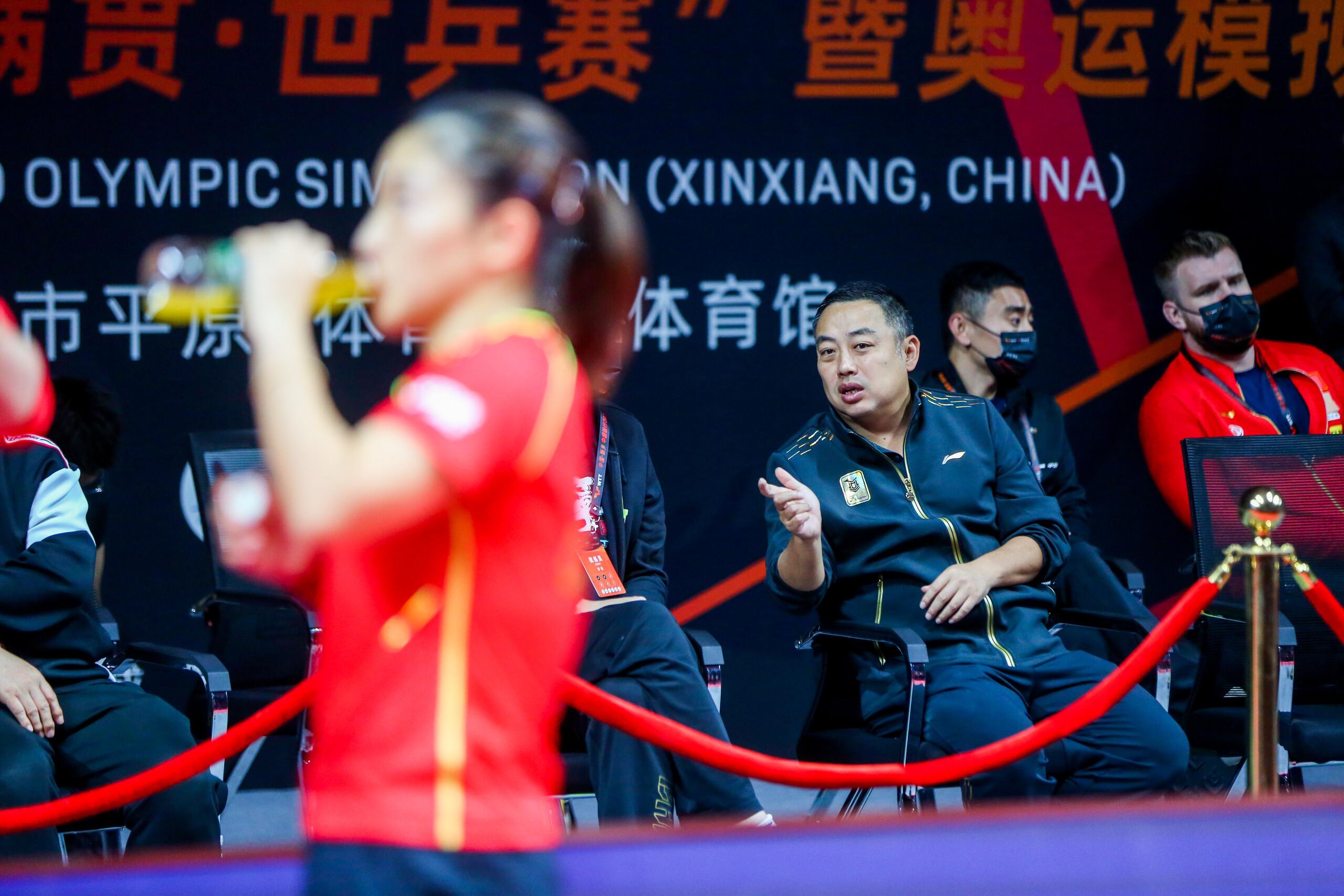 回归赛场的刘诗雯。