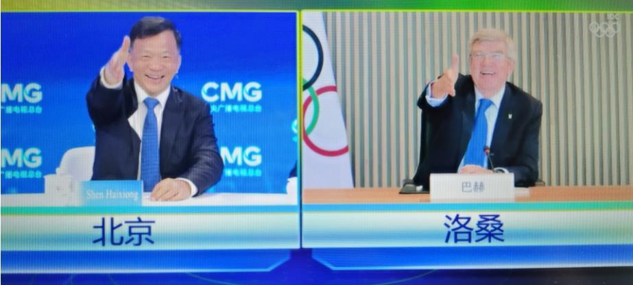 金鸿娱乐新闻:中央广播电视总台与国际奥委会达成合作:转播东京奥运会等