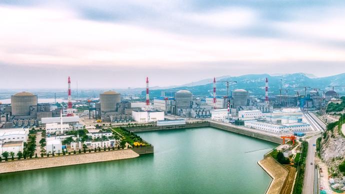 两国元首见证,中俄核能合作田湾、徐大堡核电站新机组开工