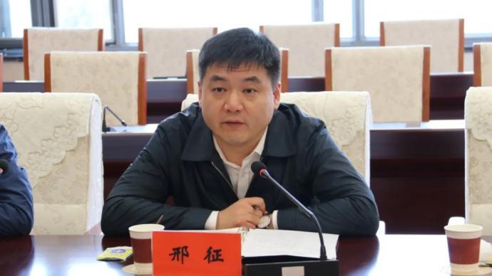 """""""75后""""邢征任内蒙古鄂尔多斯市委副书记"""