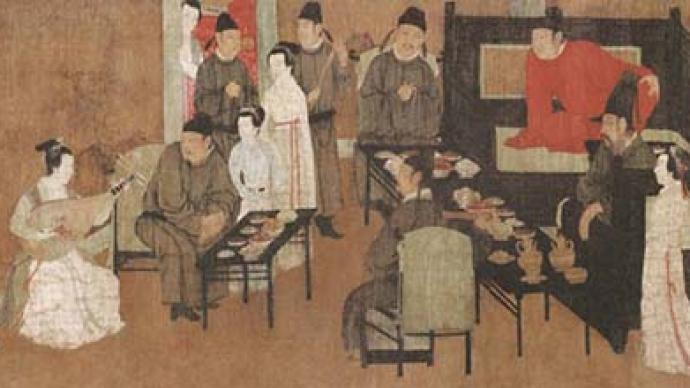 古人宴席为何配歌舞?中国的食礼到底有多讲究?