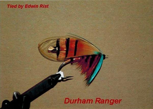 埃德温绑制的飞蝇。图片出自《遇见天堂鸟:一段避不开的人类欲望史》。