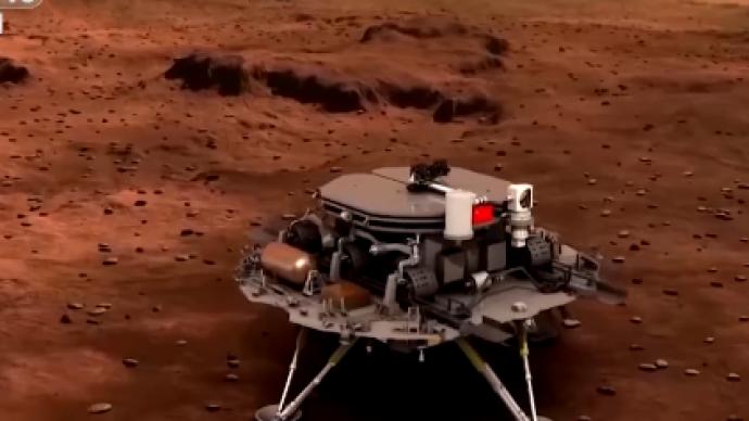 """记录丨""""祝融""""来到火星的170小时"""