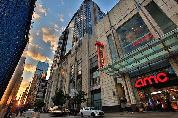 全球最大连锁影院AMC。