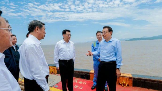 李克强:浙江不仅要做小商品集散地,还要做大宗商品战略中转基地