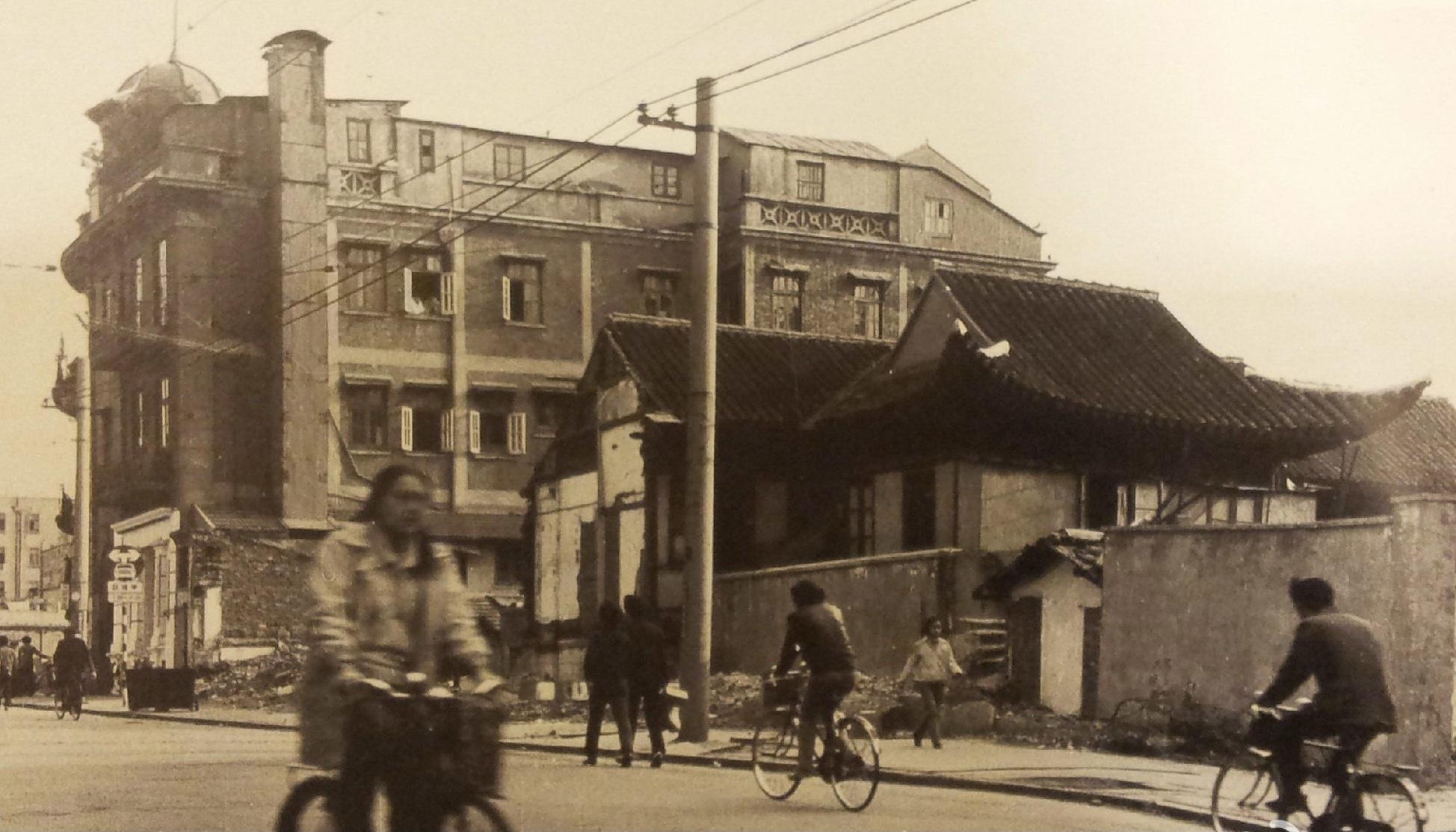 20世纪80年代,天后宫。图片来源:方志上海