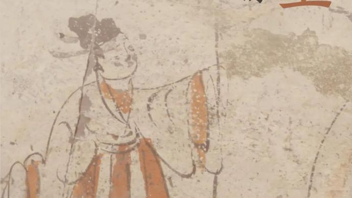 """魏晋画像砖里的古人生活,国博展""""图画众生"""""""