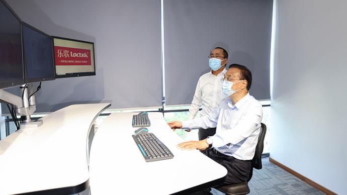 李克强为何与宁波这家公司海外仓视频连线?