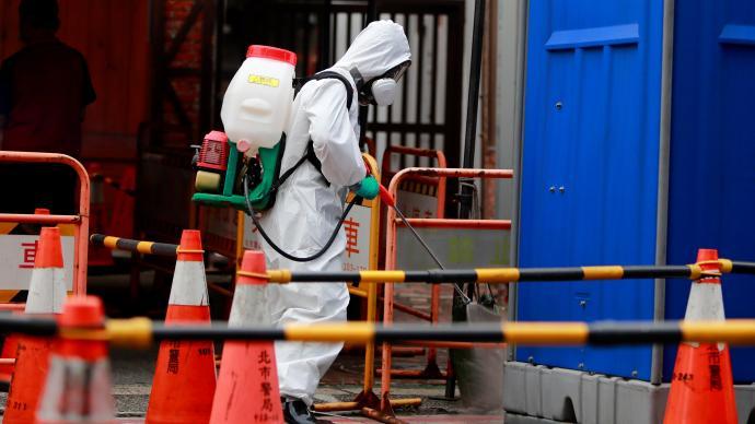 台湾11天新增4134例本土病例,三级警戒延长