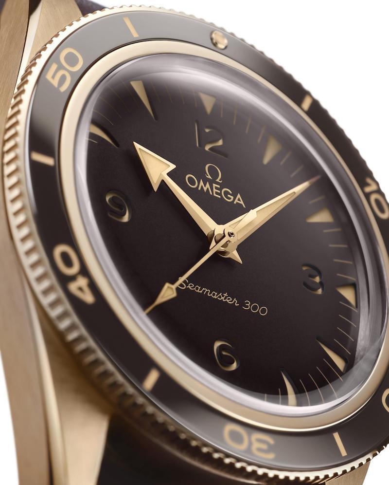 欧米茄 海马300腕表青铜金款