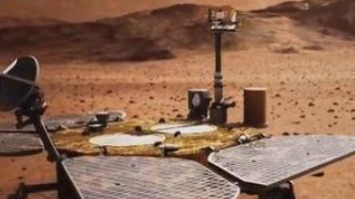 天问一号火星磁强计伸杆成功在轨展开,启动火星空间磁场探测
