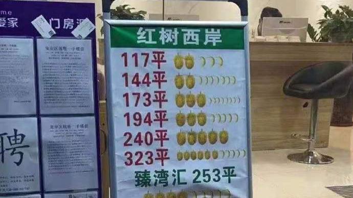 """深圳房中协通报""""中介用水果图案暗示挂牌价"""":列入不良行为"""