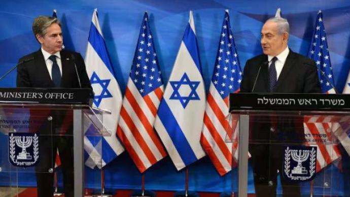 """内塔尼亚胡会见布林肯:若哈马斯打破停火协议,将""""强有力回应"""""""