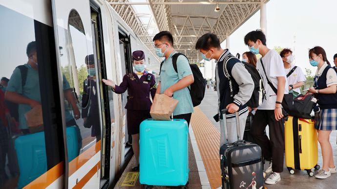长三角铁路端午将迎大客流,增开列车数有望创下历史同期新高