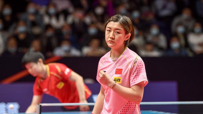 入选国乒东京奥运名单,陈梦心里的石头落地了