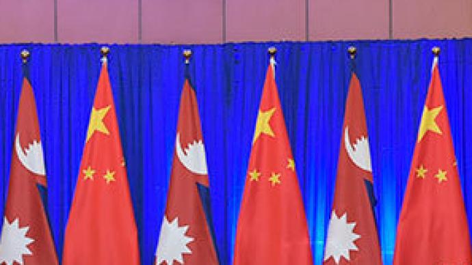 习近平同尼泊尔总统班达里通电话