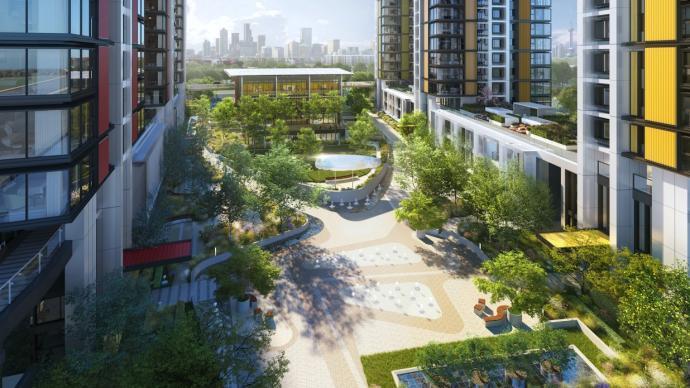 新老建筑奏响和谐共生乐章,万科中兴城计划探索未来理想生活