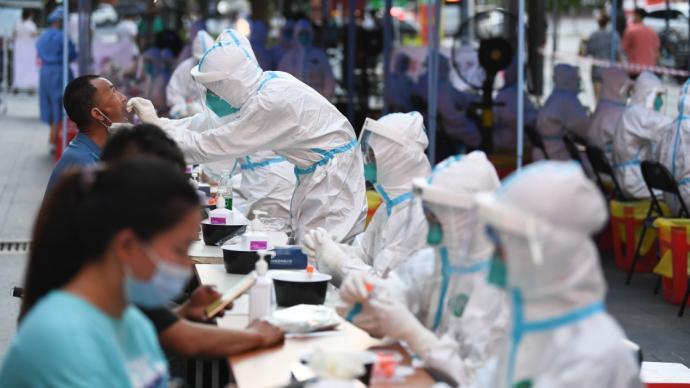 广州市海珠区开展全区全员核酸检测