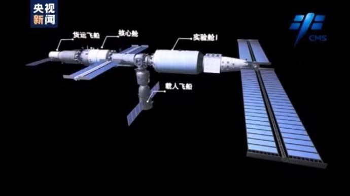 空間碎片、太空垃圾,計劃在軌運行超十年的中國空間站如何應對