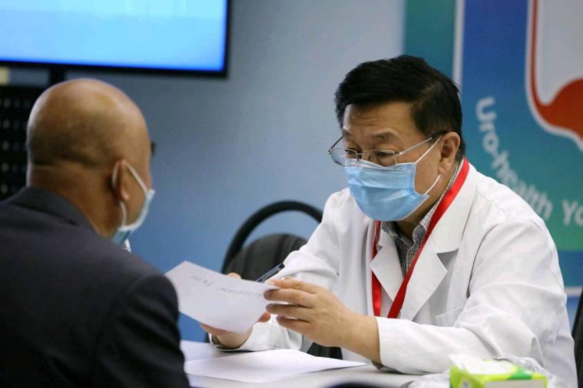 必晟娱乐平台注册:U医公益行启动,让泌尿疾病患者在基层医院得到权威诊治