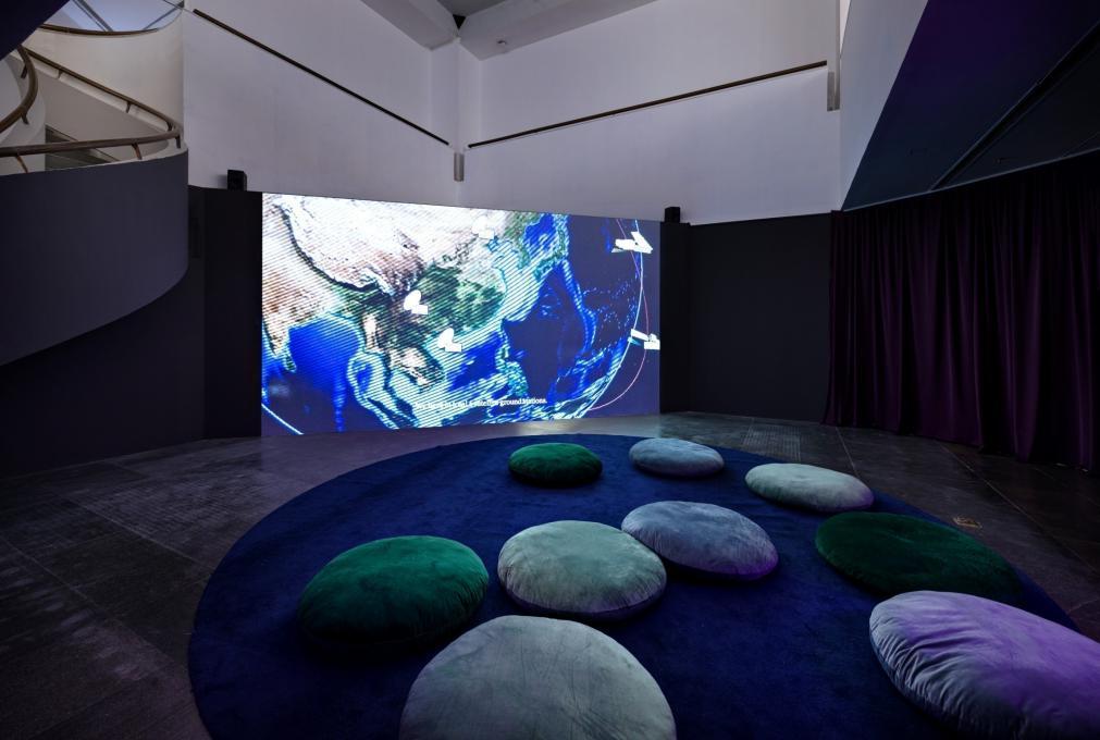 广州影像三年展展览现场。 主讲人供图