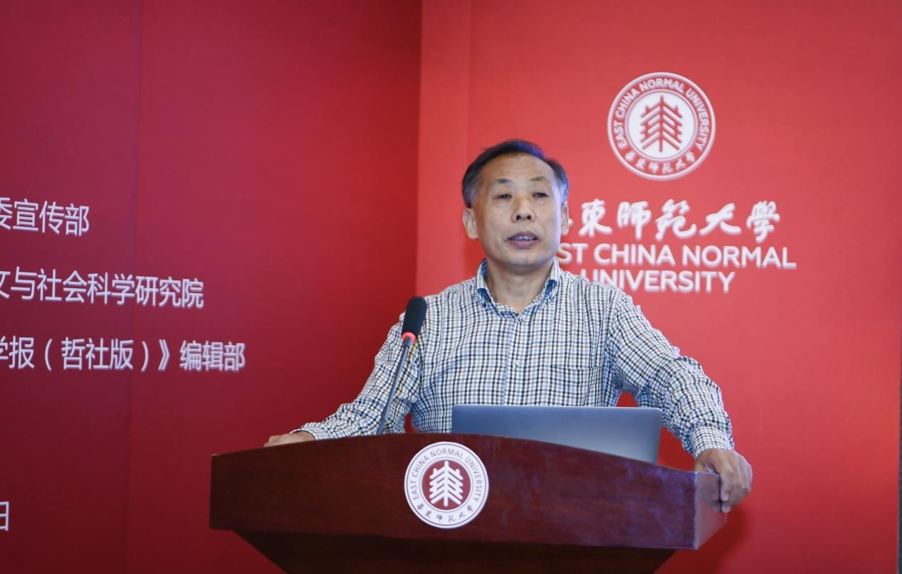 全國高校文科學報研究會副理事長、《文史哲》副主編劉京希致辭