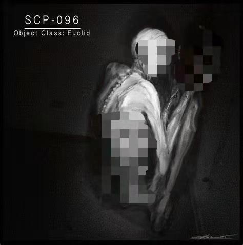 SCP爱好者创作出来的一种超自然生物SCP-096。 图源网络