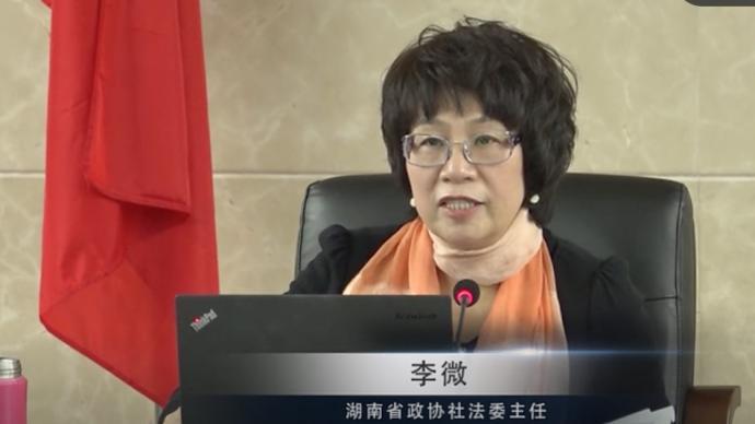 李微接受审查调查,被指曾是湖南中级法院有史以来首位女院长