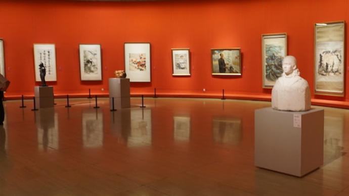 中国民主同盟80周年美术展,刘海粟、潘天寿等都是盟员