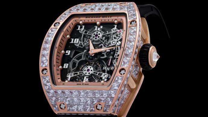 當RICHARD MILLE的高科技時計遇見璀璨鑲嵌技藝