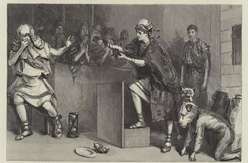 阿里斯托芬的《马蜂》插图