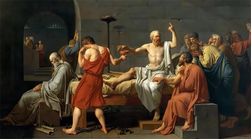 《苏格拉底的申辩》