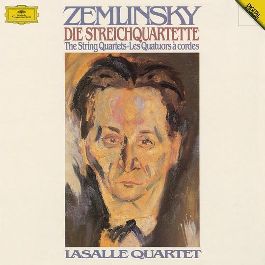 拉薩爾四重奏錄制的澤姆林斯基弦樂四重奏