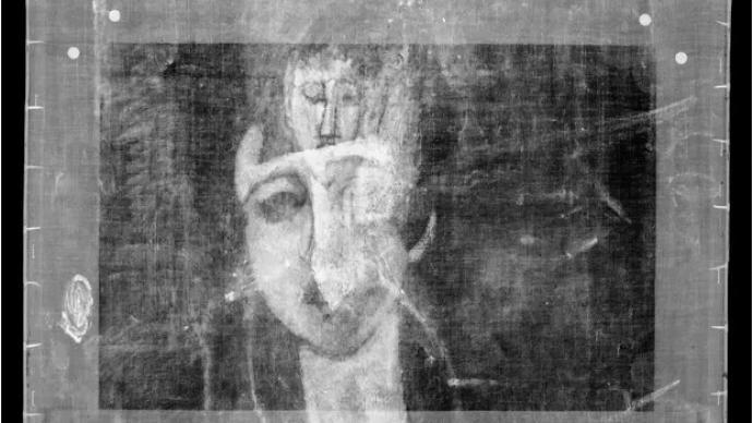 """莫迪利亚尼的""""画中有画"""",藏着他生命中的魔鬼与缪斯"""